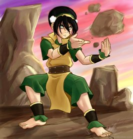 toph-bei-fong-in-karate-pose-ll45819