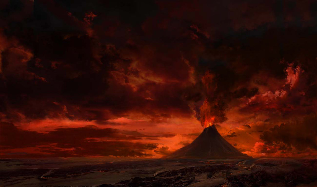 Mount Doom Rock Climbing